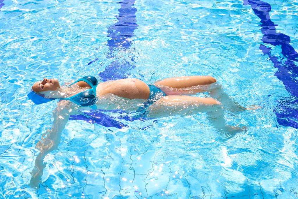 basen sport w ciąży