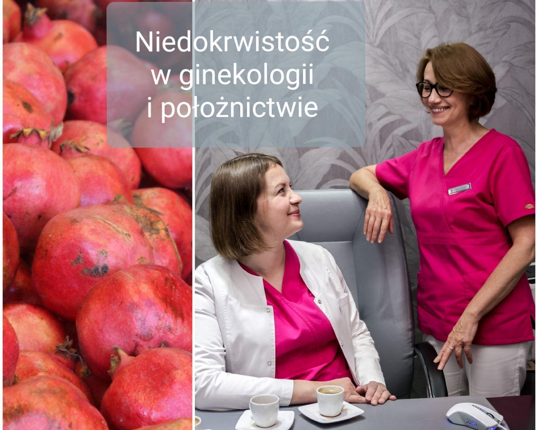 anemia niedokrwistosc w ginekologii i poloznictwie
